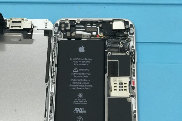 iphoneSE 水没修理