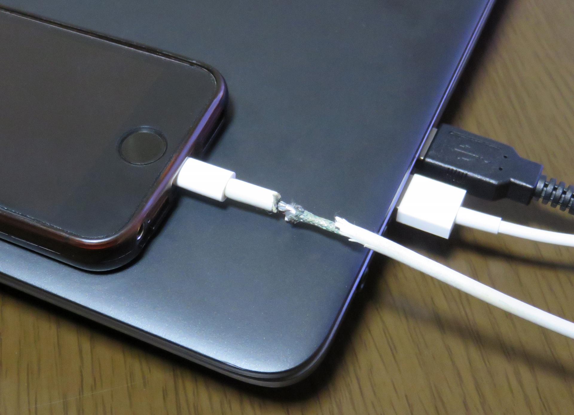 iphone充電出来ない