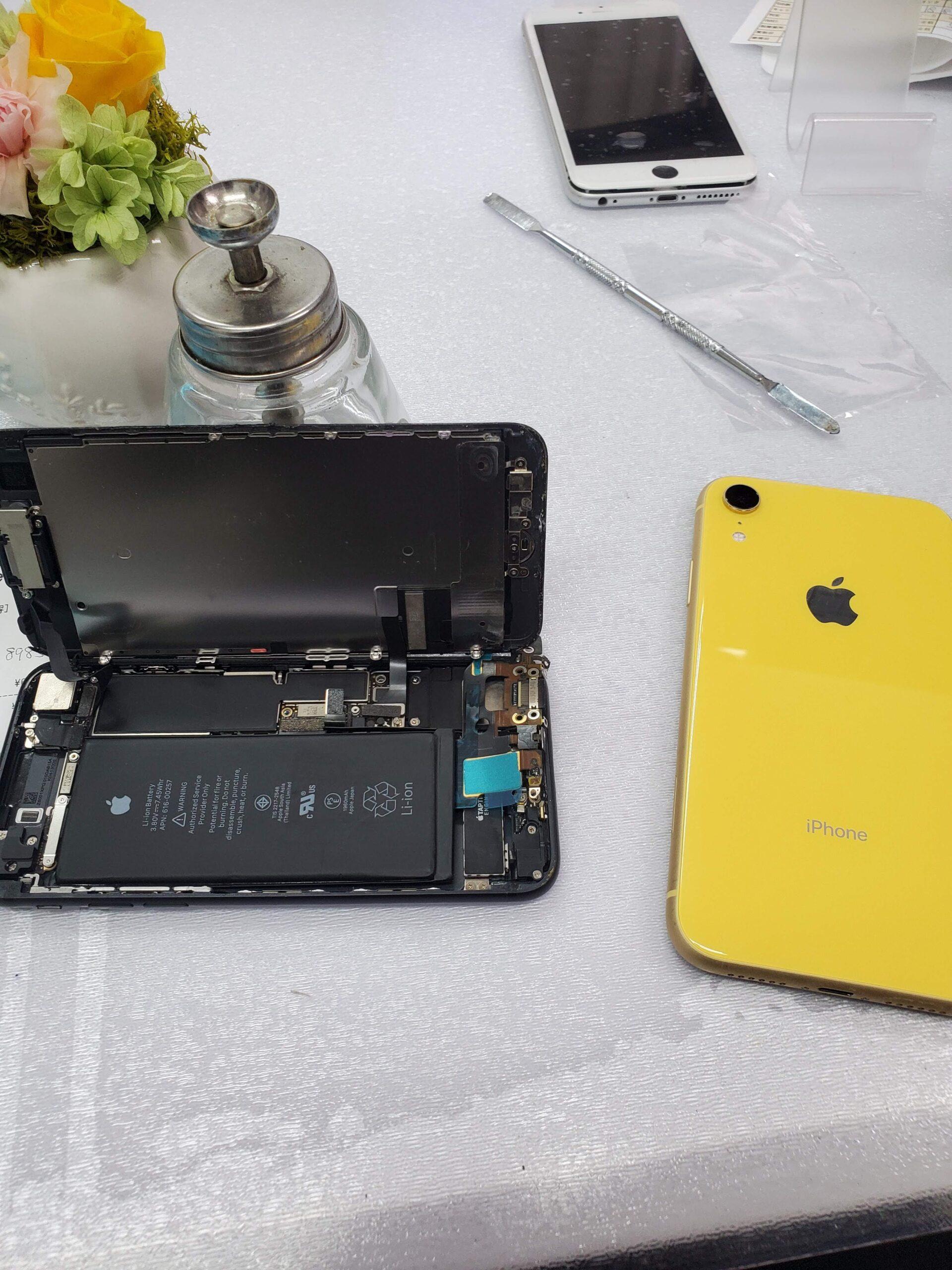 iphone7充電できない
